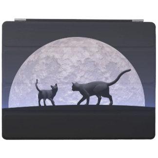 Cubierta De iPad Gatos románticos
