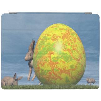 Cubierta De iPad Huevo de Pascua - 3D rinden