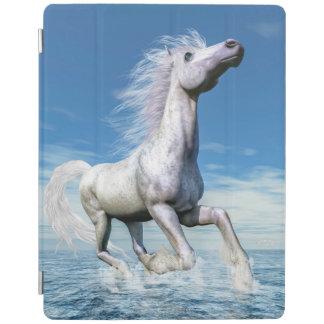 Cubierta De iPad Libertad del caballo blanco - 3D rinden