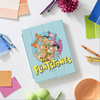 Cubierta De iPad Los Flintstones y el gráfico de la familia de los