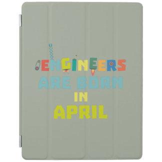 Cubierta De iPad Los ingenieros son en abril Z5h58 nacidos