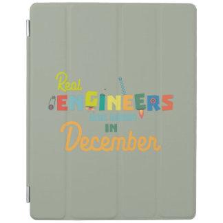Cubierta De iPad Los ingenieros son en diciembre Z6r6a nacidos