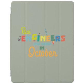 Cubierta De iPad Los ingenieros son en octubre Zs52p nacidos