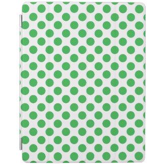 Cubierta De iPad Lunares verdes