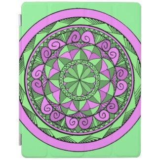 Cubierta De iPad Mandala del añil