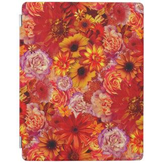 Cubierta De iPad Margaritas candentes ricas del ramo brillante