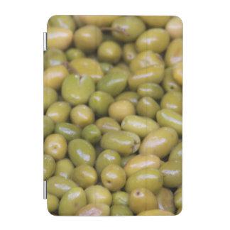 Cubierta De iPad Mini Ciérrese para arriba de aceitunas verdes