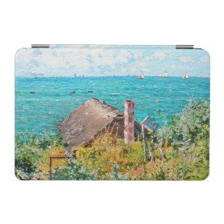 Cubierta De iPad Mini Claude Monet la cabina en la bella arte del