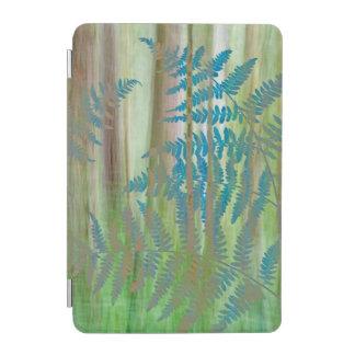 Cubierta De iPad Mini Collage de los helechos y del bosque el | Seabeck,