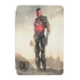 Cubierta De iPad Mini Cyborg de la liga de justicia el | en campo de