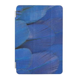 Cubierta De iPad Mini Diseño azul de la pluma del Macaw del jacinto
