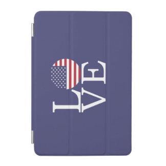 Cubierta De iPad Mini Estados Unidos señalan por medio de una bandera