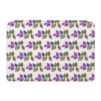 Cubierta De iPad Mini Hojas del arco iris de la acuarela