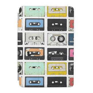 Cubierta De iPad Mini La mezcla retra del casete del vintage graba el