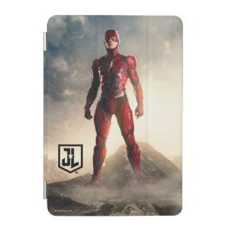 Cubierta De iPad Mini Liga de justicia el | el flash en campo de batalla