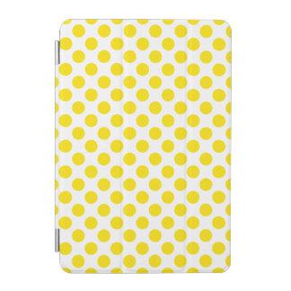 Cubierta De iPad Mini Lunares amarillos