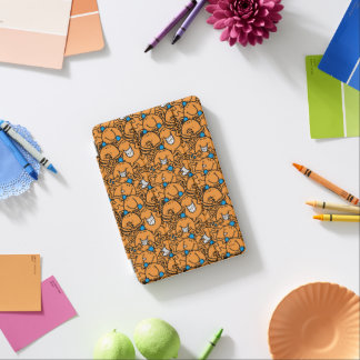 Cubierta De iPad Mini Modelo anaranjado de las cosquillas de Sr. Tickle