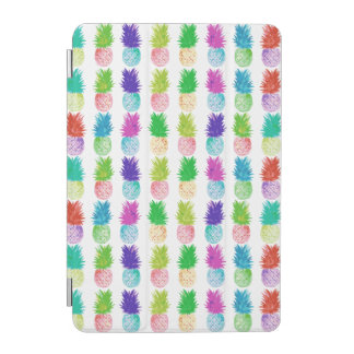 Cubierta De iPad Mini Modelo colorido de la piña de la pintura del arte