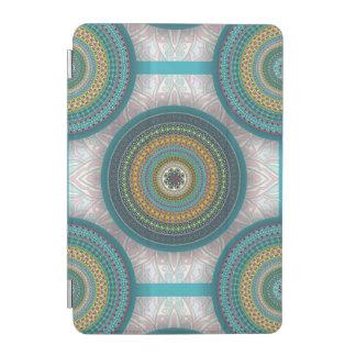Cubierta De iPad Mini Modelo floral étnico abstracto colorido de la