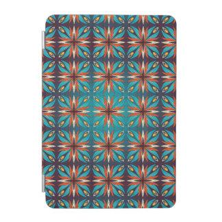 Cubierta De iPad Mini Modelo inconsútil retro geométrico abstracto