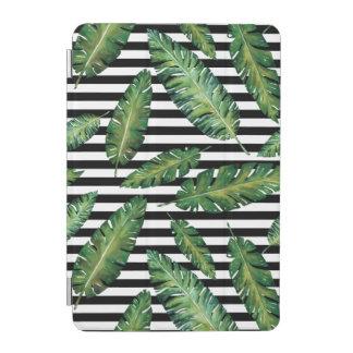 Cubierta De iPad Mini Modelo tropical del verano de la hoja del plátano