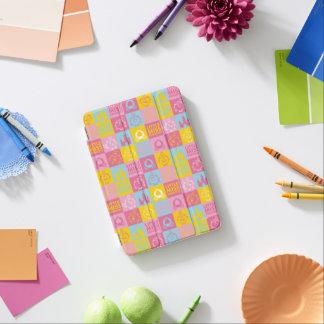 Cubierta De iPad Mini Pequeño modelo en colores pastel bonito de la
