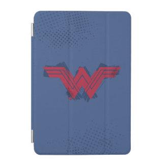 Cubierta De iPad Mini Símbolo cepillado el   de la Mujer Maravilla de la