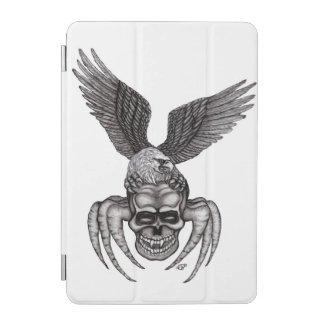 Cubierta De iPad Mini Spiderskull con Eagle