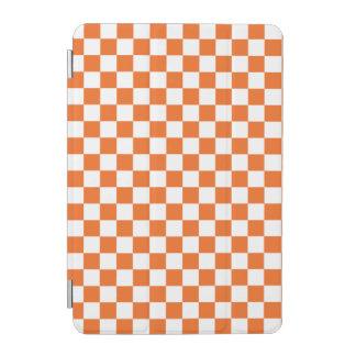 Cubierta De iPad Mini Tablero de damas anaranjado