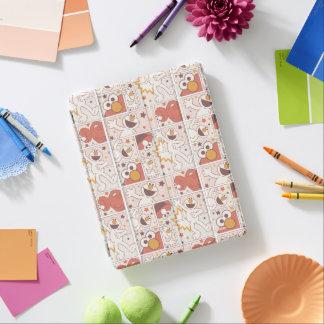 Cubierta De iPad Modelo cómico del pequeño monstruo feliz de Elmo