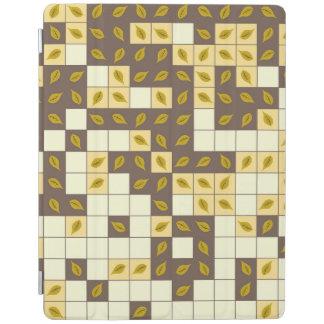 Cubierta De iPad Modelo de las hojas de otoño