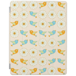 Cubierta De iPad Pájaros y margaritas