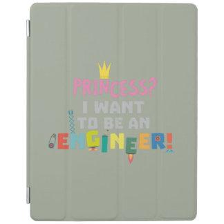 Cubierta De iPad Princesa I quiere ser un Engnineer Z2yb2