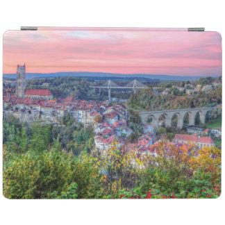 Cubierta De iPad Puente de Poya y de Zaehringen, Fribourg, Suiza