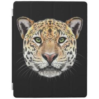 Cubierta De iPad Retrato ilustrado del jaguar
