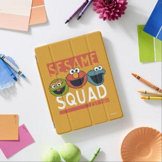 Cubierta De iPad Sesame Street - pelotón del sésamo