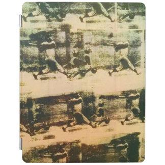 Cubierta De iPad Vintage del home run del béisbol - cubierta