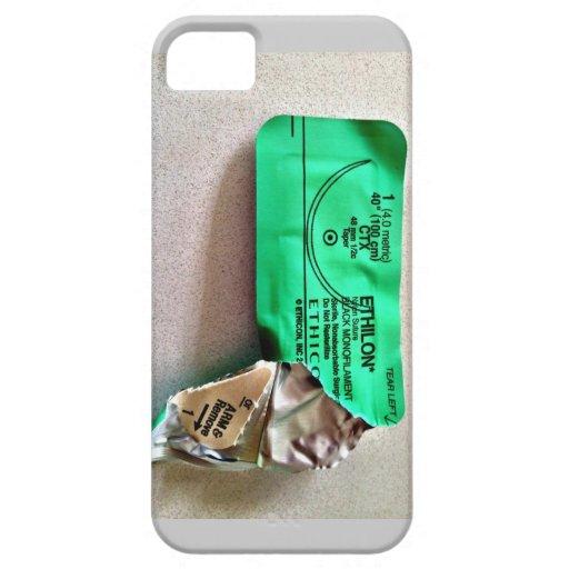 Cubierta de Iphone 5 de la envoltura de la sutura iPhone 5 Cárcasas