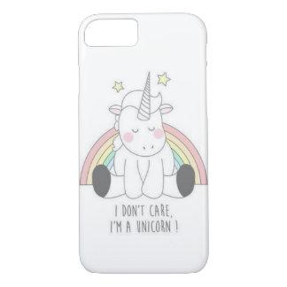 """Cubierta de Iphone """"soy un unicornio """" Funda Para iPhone 8/7"""