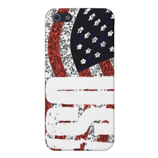 Cubierta de la bandera de IPhone4 los E E U U iPhone 5 Carcasas