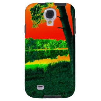 Cubierta de la galaxia S4 de Samsung de la natural Funda Galaxy S4
