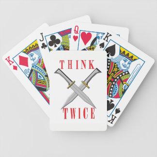 cubierta de las tarjetas fresca para los jugadores baraja de cartas bicycle