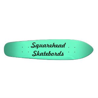 Cubierta de Longboard del vintage de Squarehead Sk Tablas De Patinar