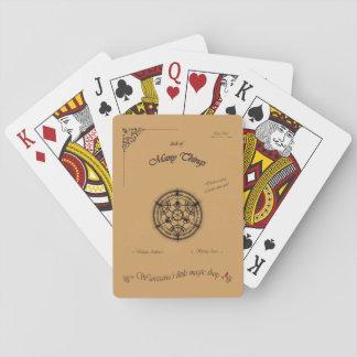 Cubierta de muchas cosas baraja de cartas