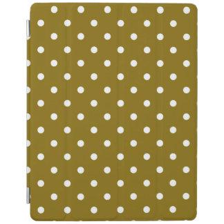 Cubierta de oro del iPad del lunar del olmo Cubierta De iPad
