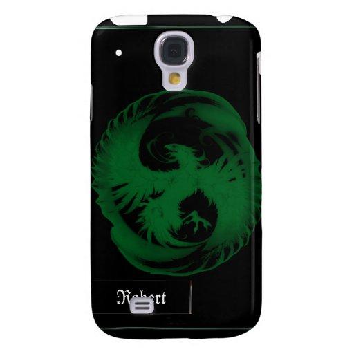 Cubierta de Phoenix iPhone3G del verde esmeralda