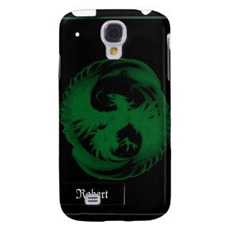 Cubierta de Phoenix iPhone3G del verde esmeralda Funda Samsung S4
