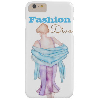 Cubierta del caso de la diva iPhone/iPad de la Funda Barely There iPhone 6 Plus
