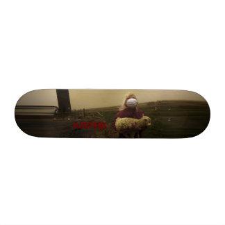 Cubierta del chica de las ovejas de KapinK Tabla De Skate
