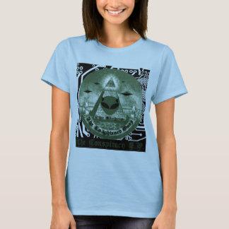 cubierta del ep de la conspiración del eloheim camiseta